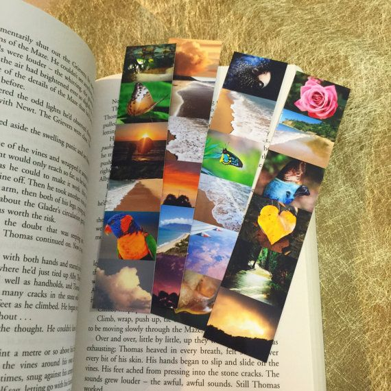 Nature Bookmark Birthday Gift Mothers Day Readers Book Lover