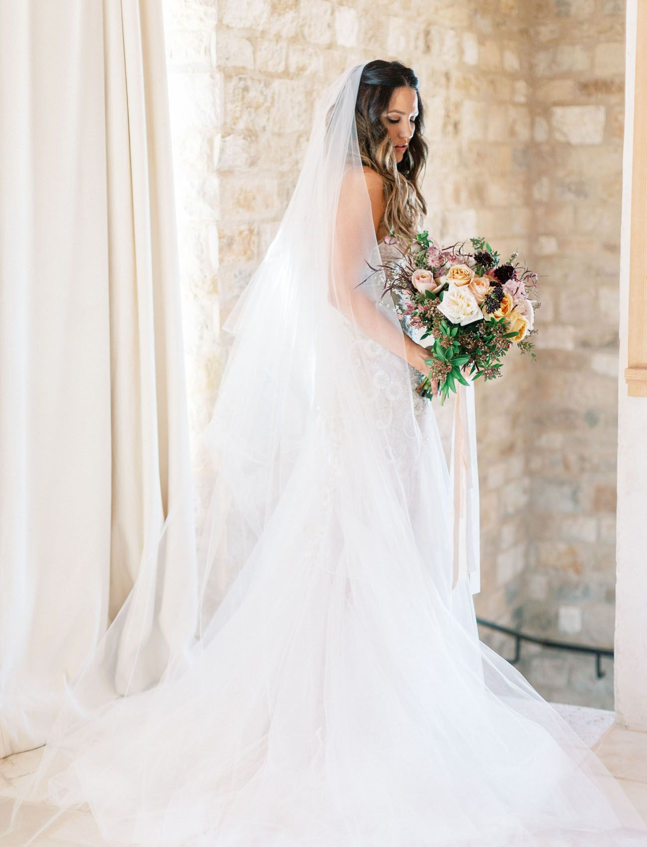 Bring On The Burgundy This Modern Wedding At Sunstone Villa Is A