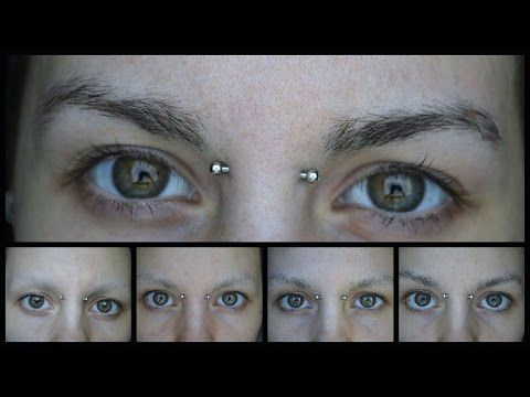 1 Month Eyebrow Regrowth - YouTube   Eyebrow regrowth, How ...