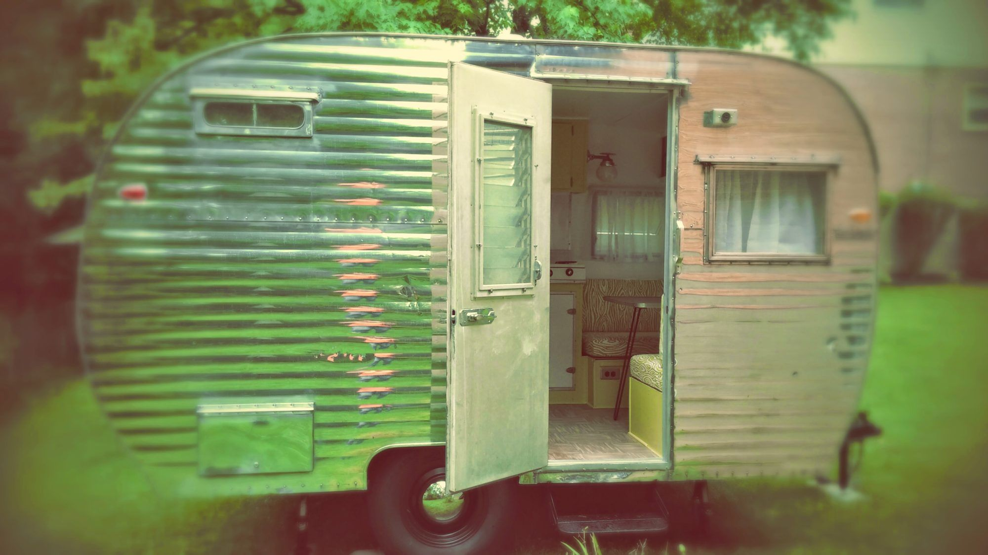 1958 fan travel trailer route fifty campers travel