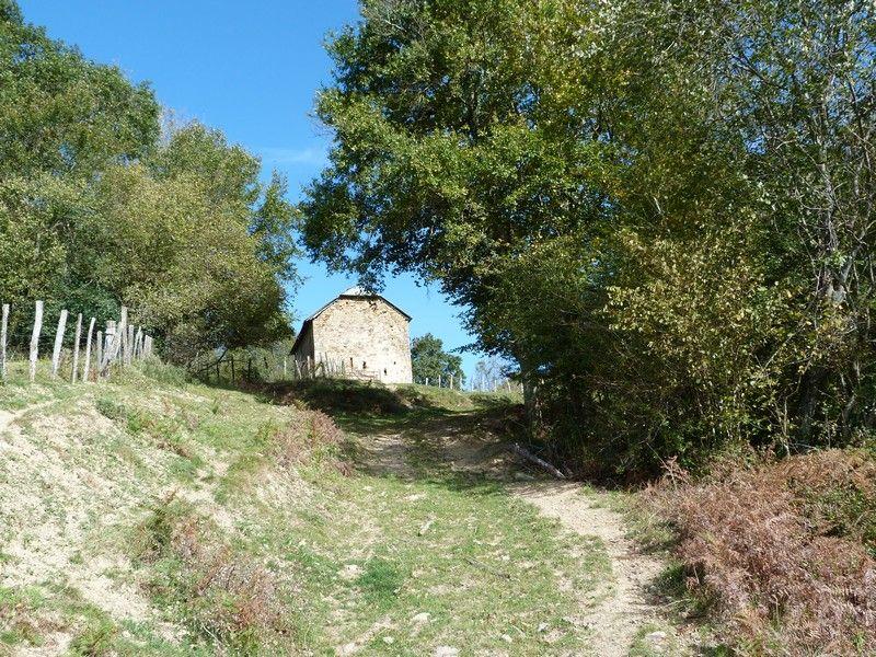 Borde vers Barcus (montagne basque).