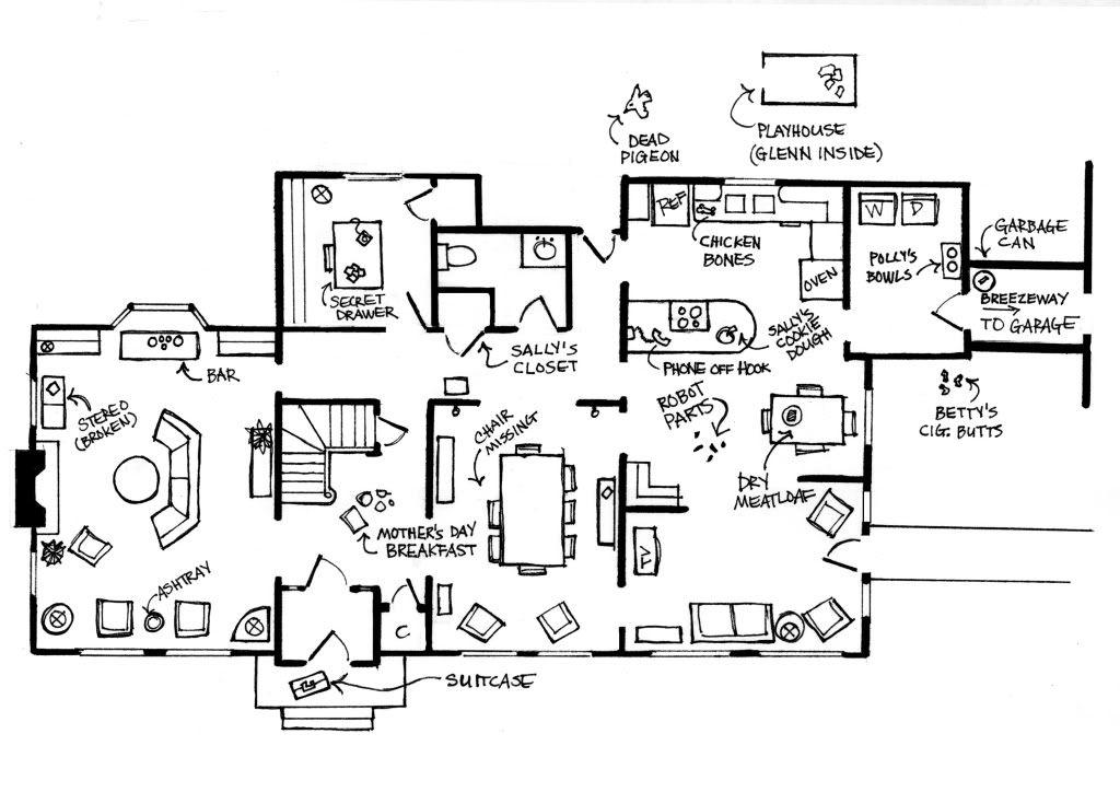 madmen firstfloor jpg 1024 215 724 mad men style mad men floor plan men home plans ideas picture