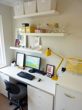 Office Contemporary Home Office Other Metro Atypical Type
