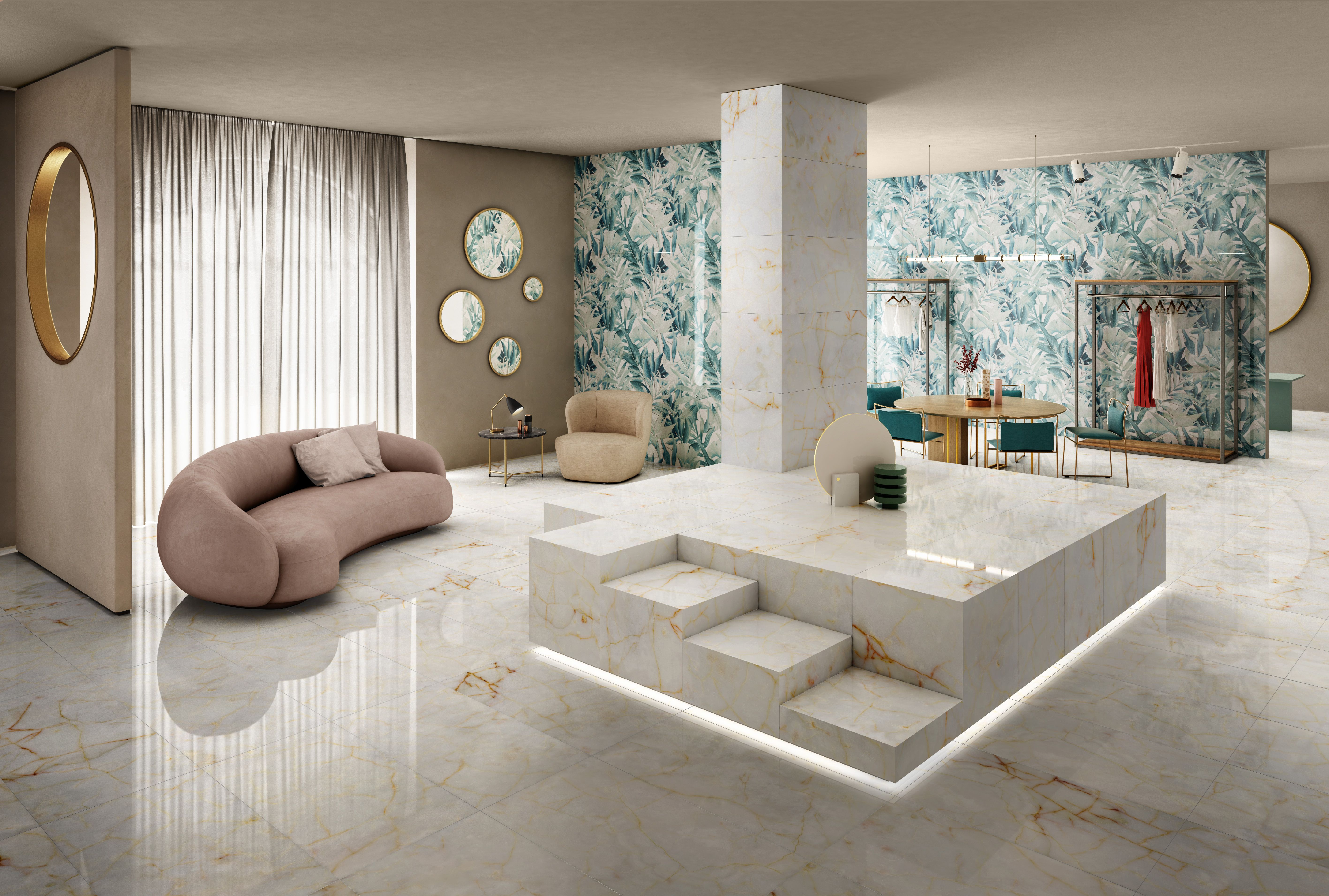 Ceramiche D'arte Elegance Tile Eclectic Elegance Decorations And Refined Textures For The