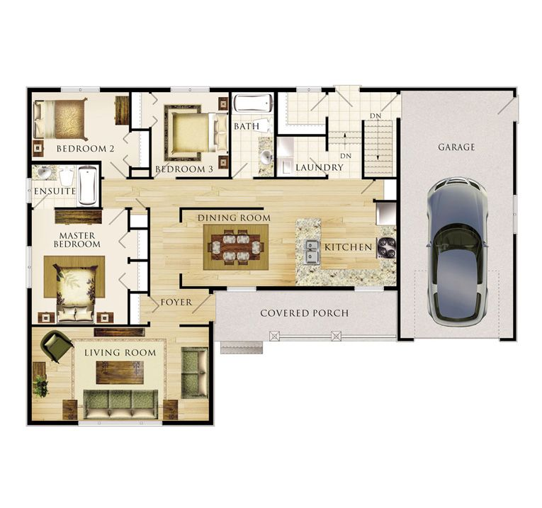 Winfield II House Layout For the Home Pinterest – Winfield House Floor Plan