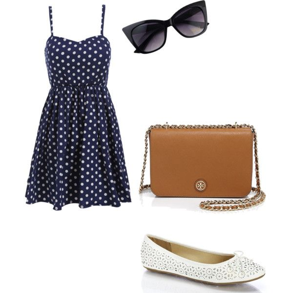 Untitled #609 by rebecca-fitzpatrick on Polyvore featuring polyvore fashion style Tory Burch
