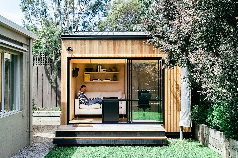 Make more use of your home   lot with  backyard room ranging in size from just over to nearly square meters they can be configured as offices also contemporary office design ideas for trendy working space rh pinterest