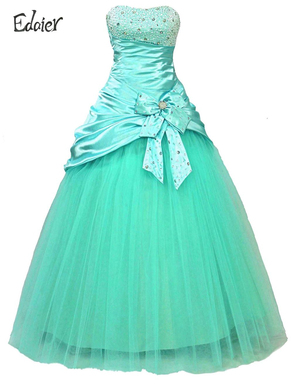 Click to buy ucuc real pictures lace tulle ruffle soft satin