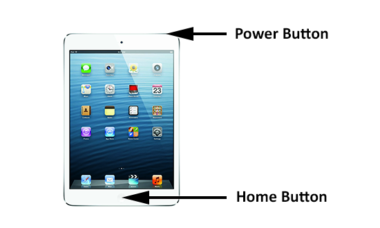 How to take a screenshot on the iPad Mini   Ipad mini, Ipad, Mini