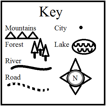 Make A Map Of The Setting A Printable Map Key Top Teacher Tips
