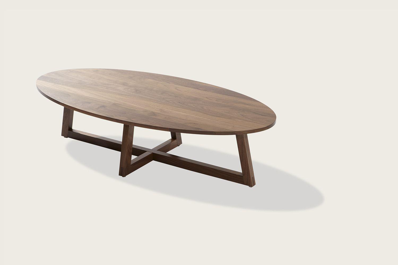 Finn Oval Coffee Table In Solid Walnut Speke Klein Oval Coffee Tables Oval Wood Coffee Table Coffee Table [ 1000 x 1500 Pixel ]