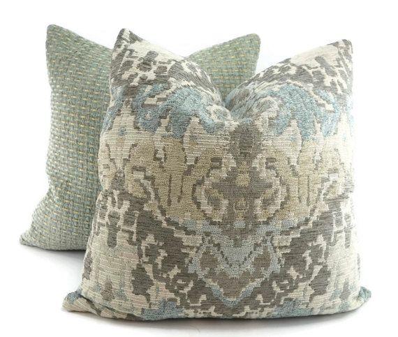 chenille throw pillows