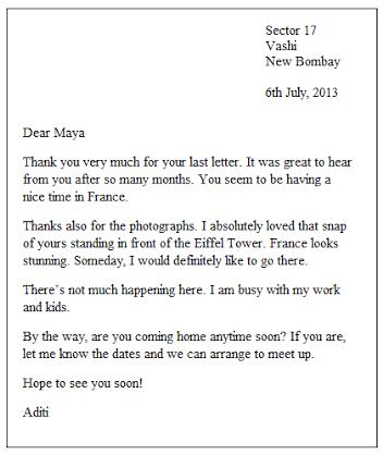 Image Result For Sample Informal Letter Belajar Pendidikan Bahasa Example Of An Essay