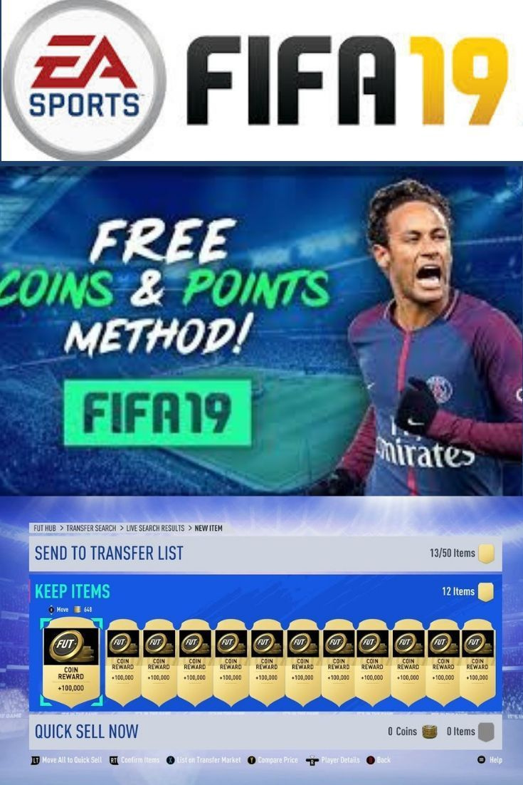 Fifa19 Free Coins & Points Online Generator!!!! This is a
