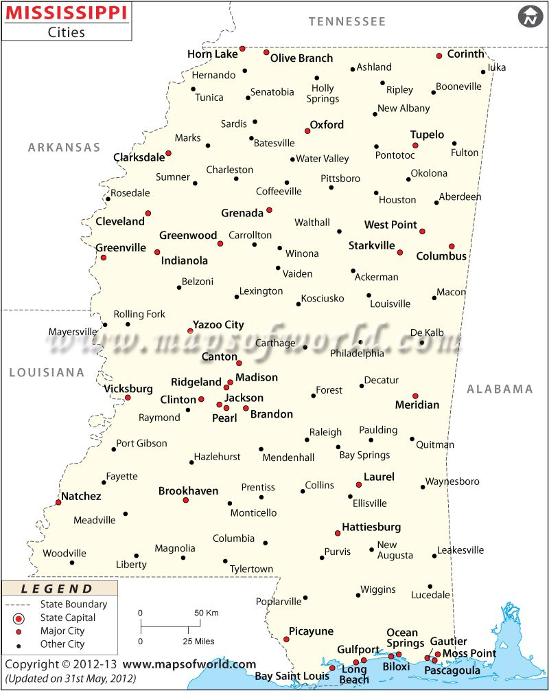 Mississippi Cities And Towns Map Southern Research Pinterest - Mississippi city map