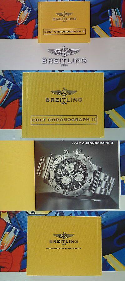 manuals and guides 93720 breitling pilot diver watch instruction rh pinterest com Breitling Colt Automatic Breitling Colt Skyracer