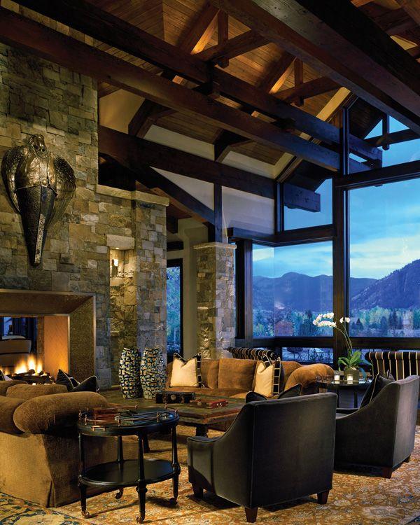 99ab7d088a373cee7f11bbf083cb3fb1 bavarian style luxury mountain retreat in aspen aspen, mountains,Aspen Style Home Designs