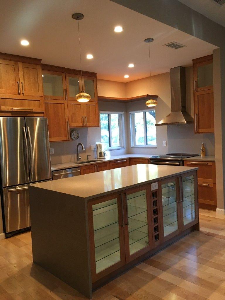 An Open Bright Ikea Kitchen In Northern California Kitchen