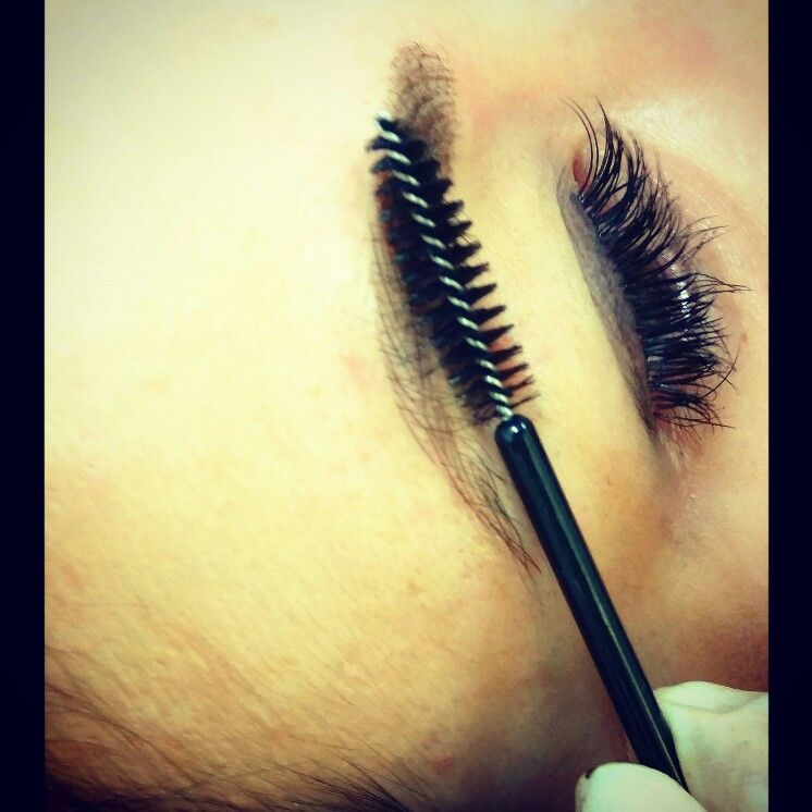 Hair strokes with semi permanent brow feathering.   Beauty ...