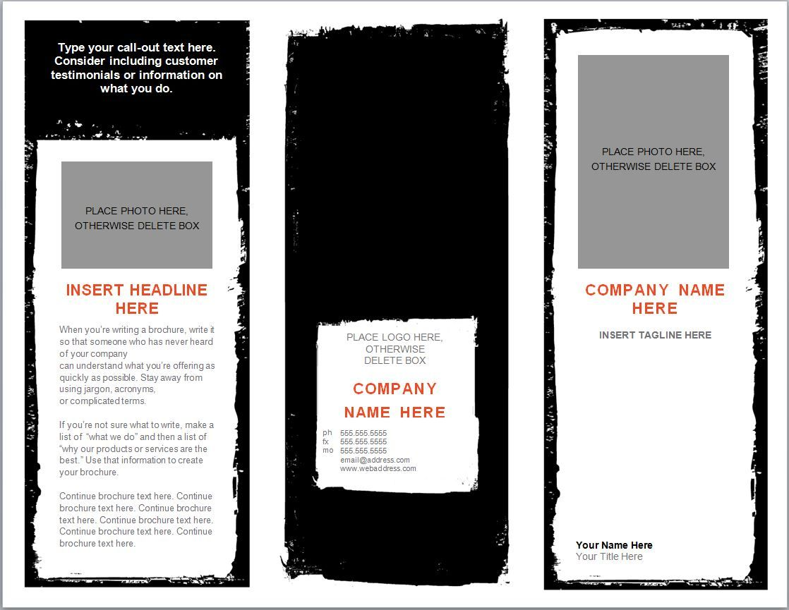 microsoft word templates for flyers