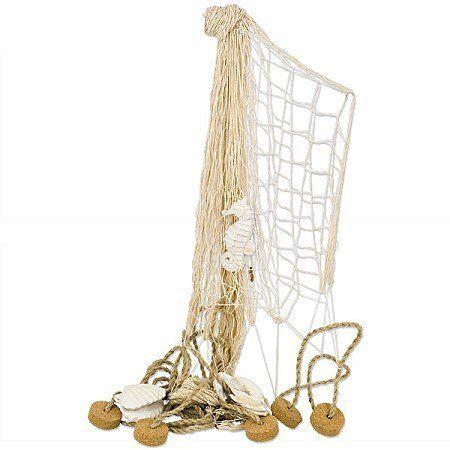 Fischernetz Deko maritimes fischernetz deko netz korken 250x150cm http amazon