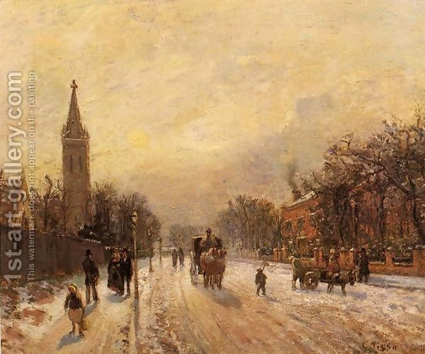Camille Pissarro:All Saints' Church, Upper Norwood