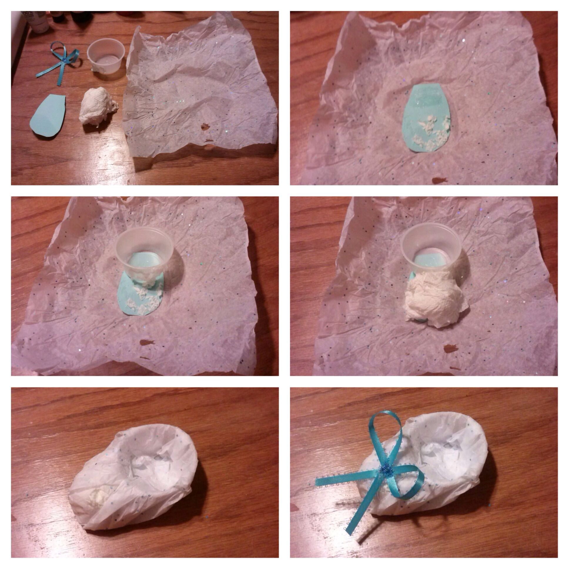 Baby shower favor idea for candy