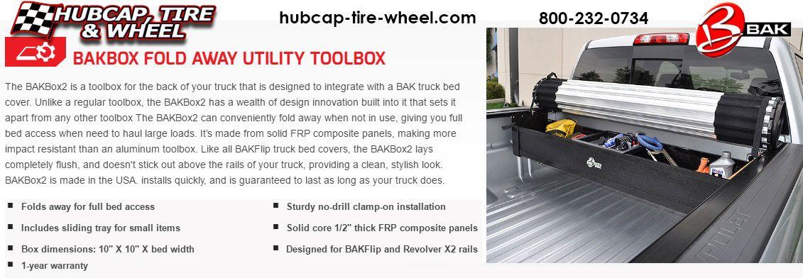 BakBox 2 Toolbox that integrates in with truck Bak Tonneau