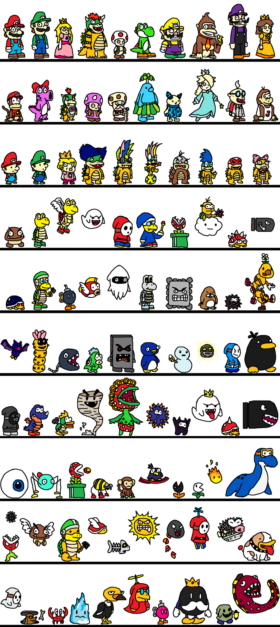 images of mario characters