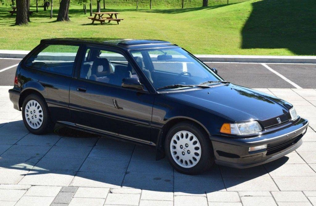 1991 Honda Civic Si Honda Civic Si Honda Civic Si Hatchback Honda Civic