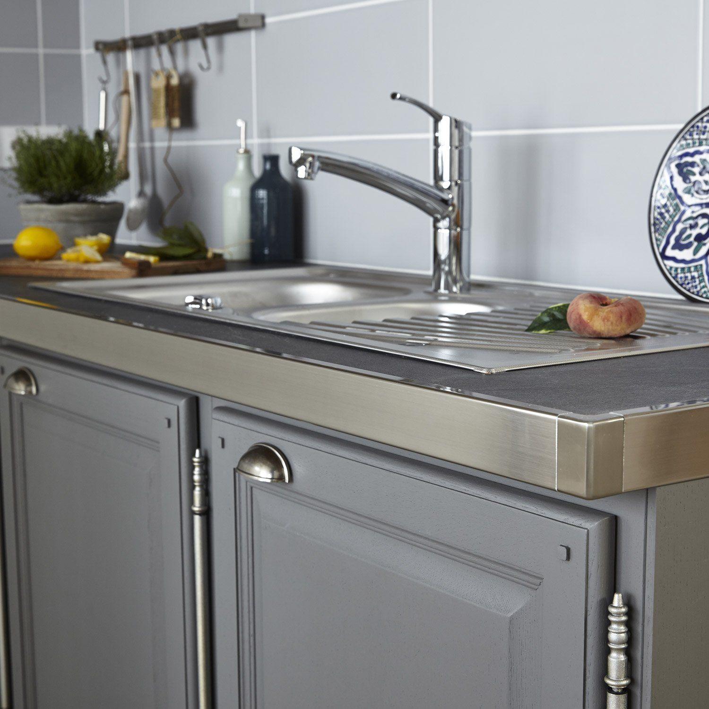 RecoupableOui Pinteres - Carrelage plan de travail cuisine leroy merlin pour idees de deco de cuisine
