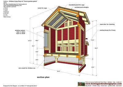 home garden plans: L101u - Free Chicken Coop Plans - How ...