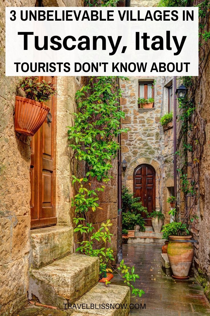Photo of 3 Unbelievable Villages in Tuscany Tourists Don't Know About