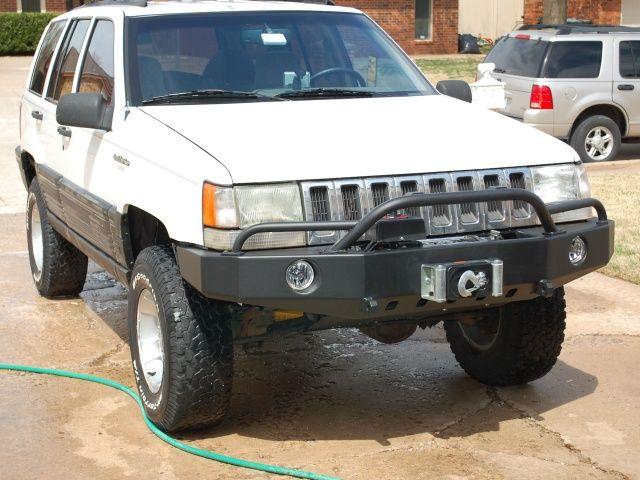 C4x4 Zj Grand Cherokee Trailblazer Winch Bumper Jeep Zj Jeep Xj