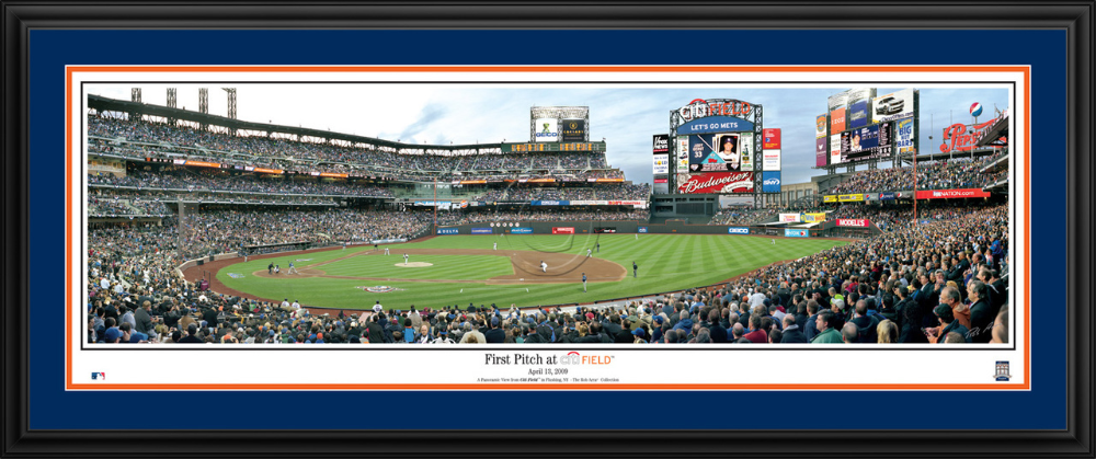 Pin On New York Mets Panoramic Framed Wall Decor