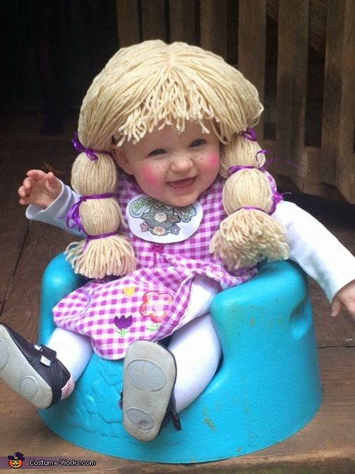 cabbage patch baby girl 2016 halloween costume contest - Cabbage Patch Halloween Costume For Baby