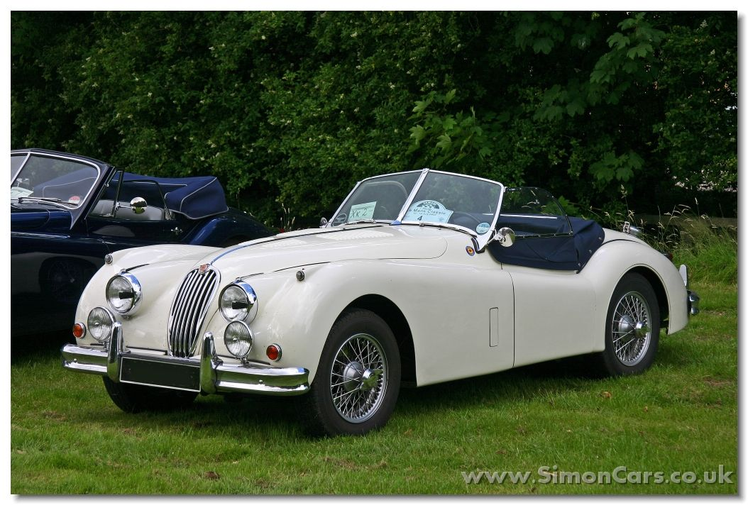 jaguar xk140 roadster fronta - jaguar xk140 roadster. in 1954 the, Wiring diagram