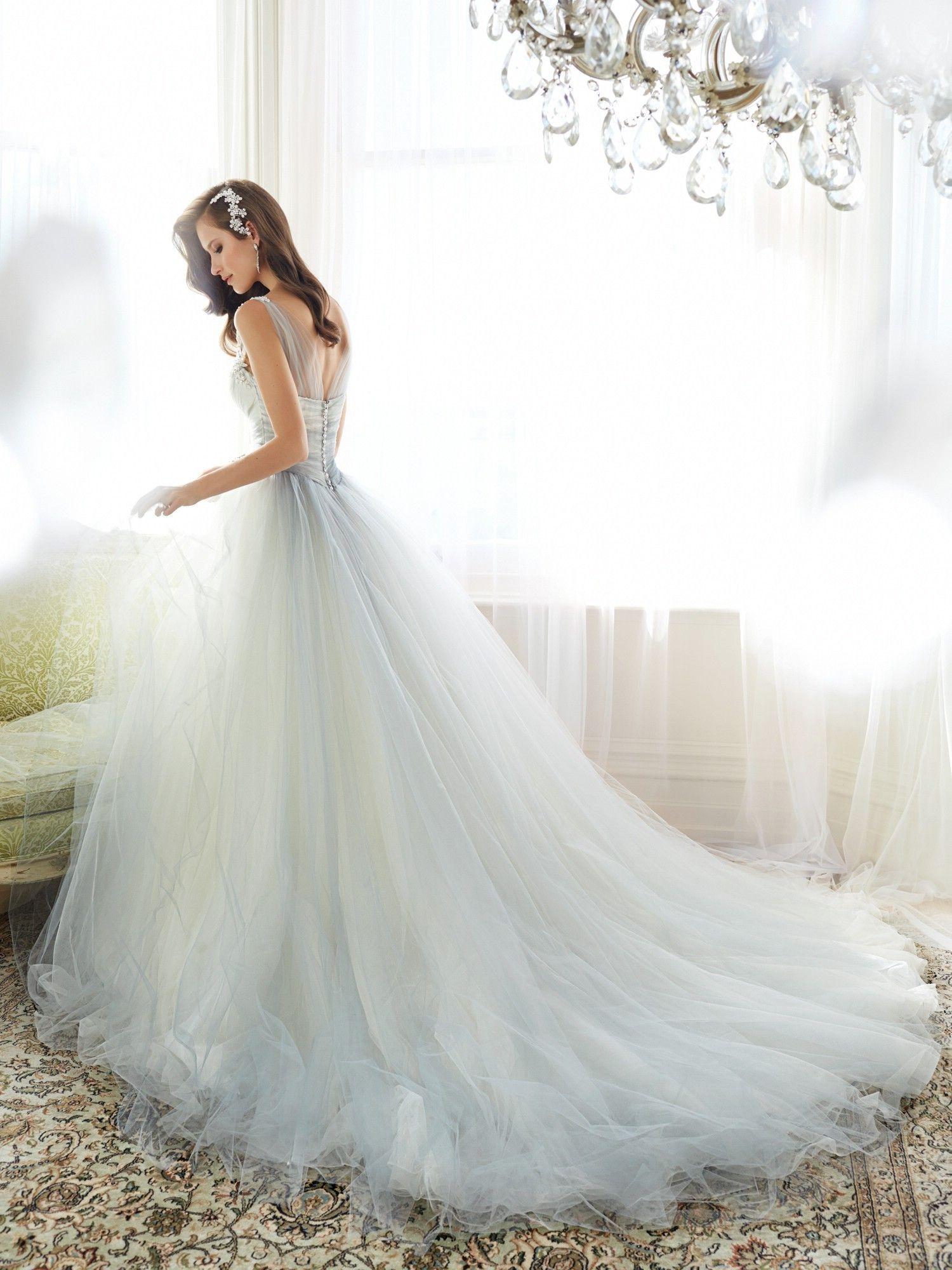 Ob. Sessed. Sophia Tolli Wedding Dresses - Style Nightingale Y11550 #sophiatolli #nightingale #weddingdress