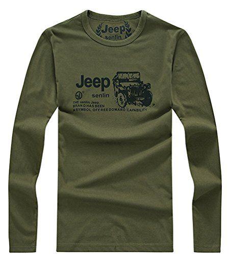 Jeep Shirt Jeep Shirts Jeep Clothing Long Sleeve Tshirt Men