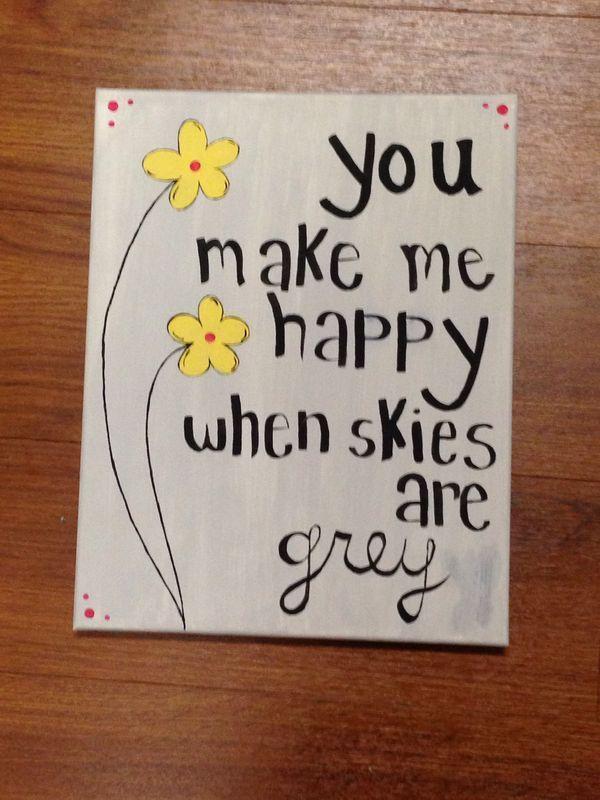 Cute Canvas Paintings Easy Love Painting Diy