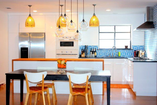 """Absolutely adore the tile in this """"The Kitchen Reveal: Our Ikea Kitchen Remodel is Finished!"""""""