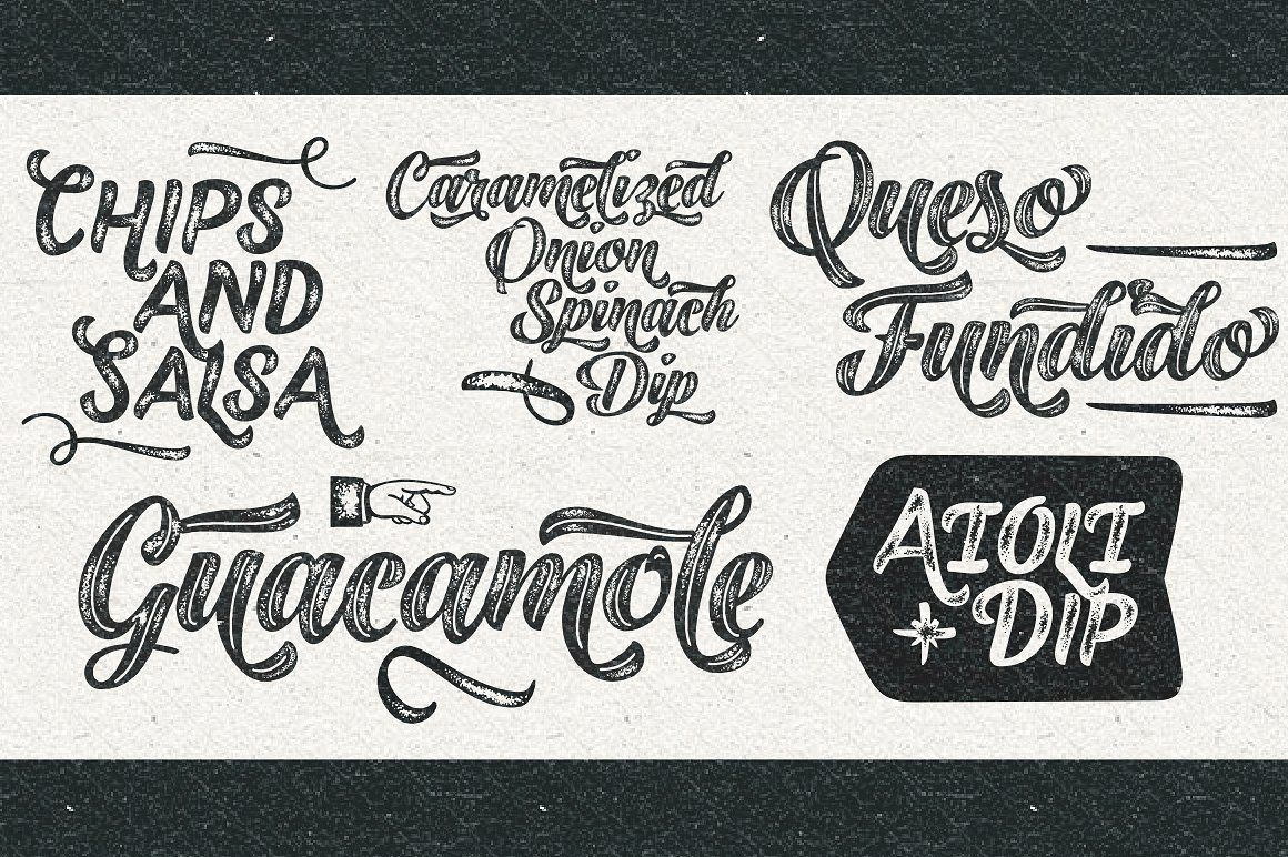 Black Script -12 fonts extras pack #Caps#Ornaments#Printed#Bold
