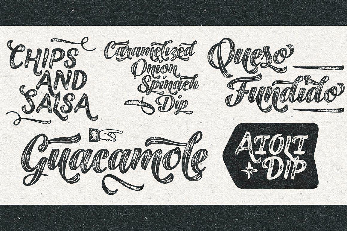 Download Black Script -12 fonts extras pack #Caps#Ornaments#Printed ...