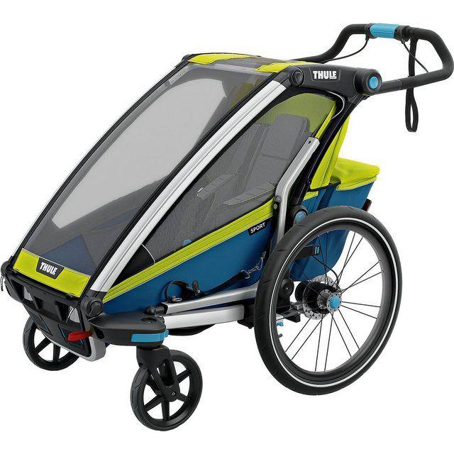 Joovy Zoom 360 Ultralight Jogging Kinderwagen Schwarz
