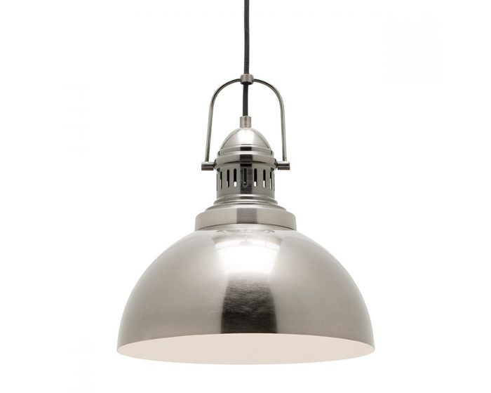 Mercator industry antique silver industrial style pendant light