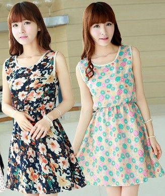 dc79df0e9e81 D105 Hot !! Korean Cute Style Summer Women Dress Free Shipping ...