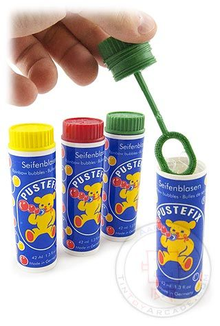 Rainbow Bubbles Original Pustefix 1948 | Kindheit ...