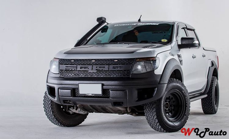 Ford Ranger Raptor Grill Voiture
