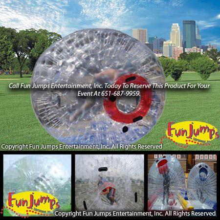 Zorb Ball Zorbie Inflatable Rentals Hamster Balls Rentals Mn