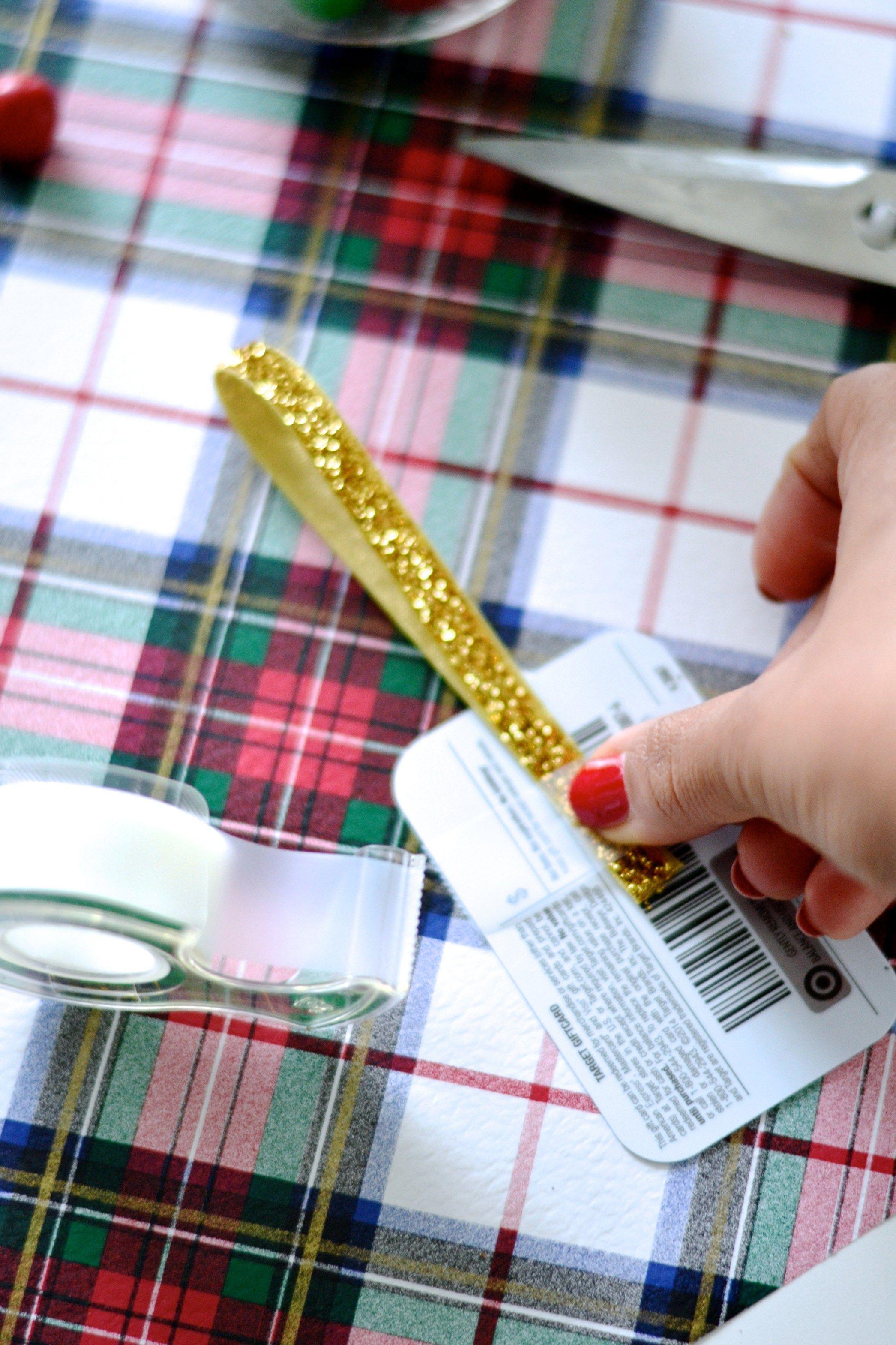 DIY giftcard presentation, Target Giftcard, Diy gift